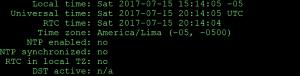 Modificar y sincronizar la fecha y hora de un servidor usando el comando timedatectl