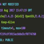 eTag y LastModified en aplicaciones php