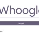 Busquedas en google usando whoogle y docker